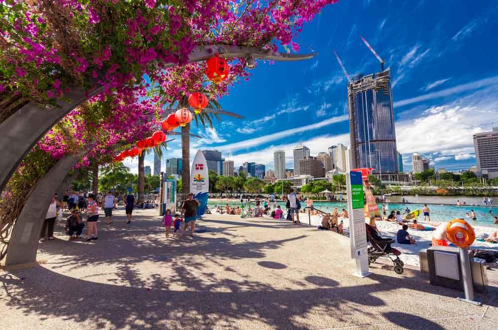 travelibro Australia Adelaide Brisbane Broome Darwin Gold Coast Melbourne Perth Sydney Whitsundays Australia Backpacking South Bank