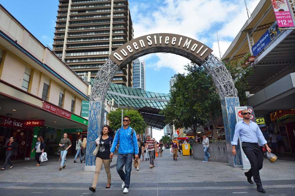 travelibro Australia Adelaide Brisbane Broome Darwin Gold Coast Melbourne Perth Sydney Whitsundays Australia Backpacking Shopping in Brisbane