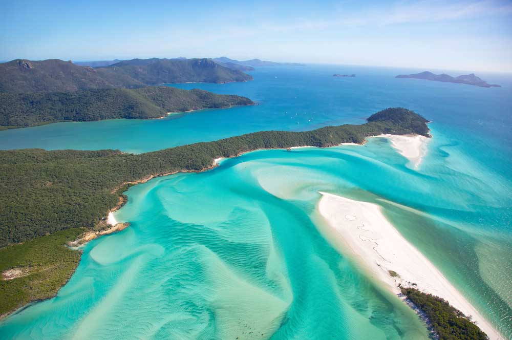 travelibro Australia Blue Mountains Cairns Daylesford Gold Coast Hamilton Island Melbourne Perth Pokolbin Sydney Yallingup Australia Honeymoon Whitehaven Beach