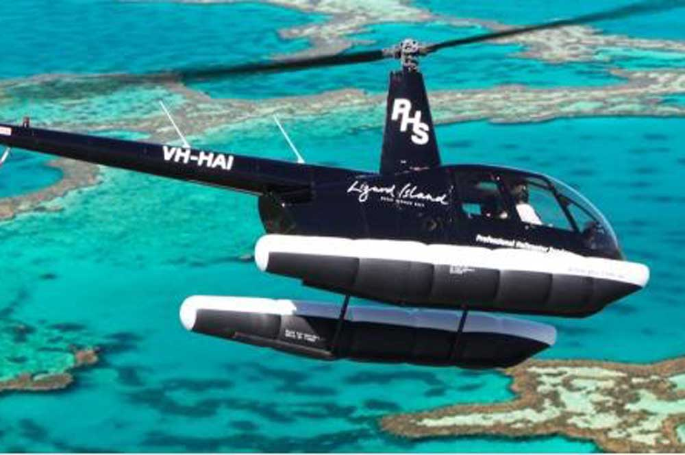 travelibro Australia Hamilton Island Lizard Island Hamilton Island & Lizard Island Helicopter Ride
