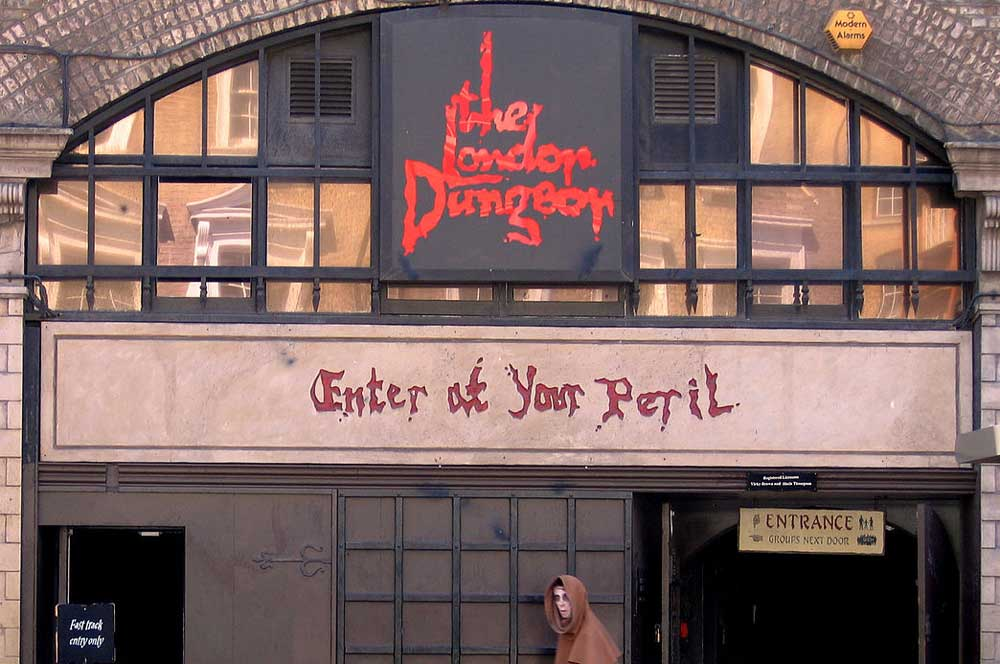 The london dungeon c. g. p