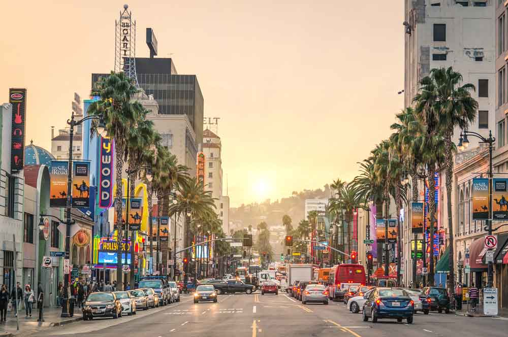 8.sunset boulevard los angeles view apart via shutterstock