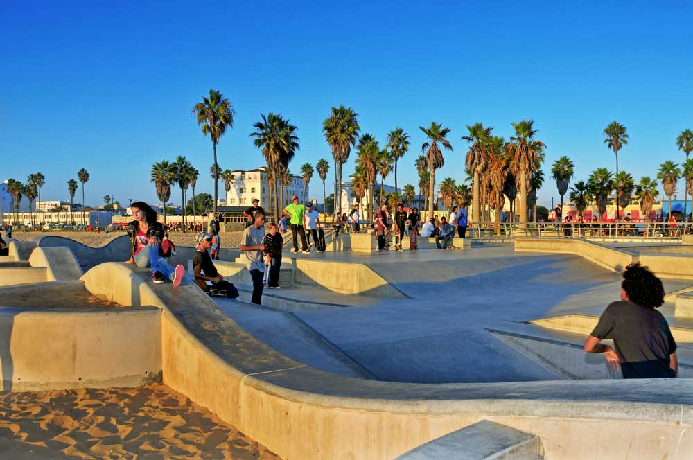 11.skatepark at venice beach nito via shutterstock