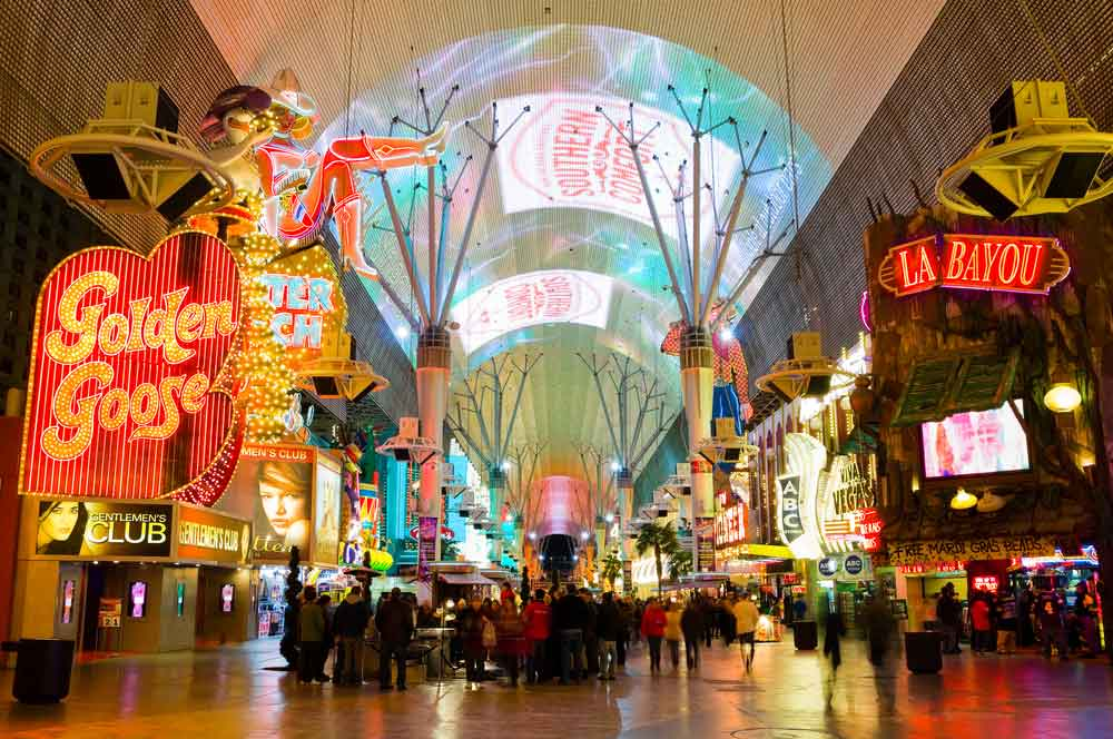 travelibro United States of America Austin Buffalo Chicago Las Vegas Los Angeles New Orleans New York San Francisco USA Budget Fremont Street