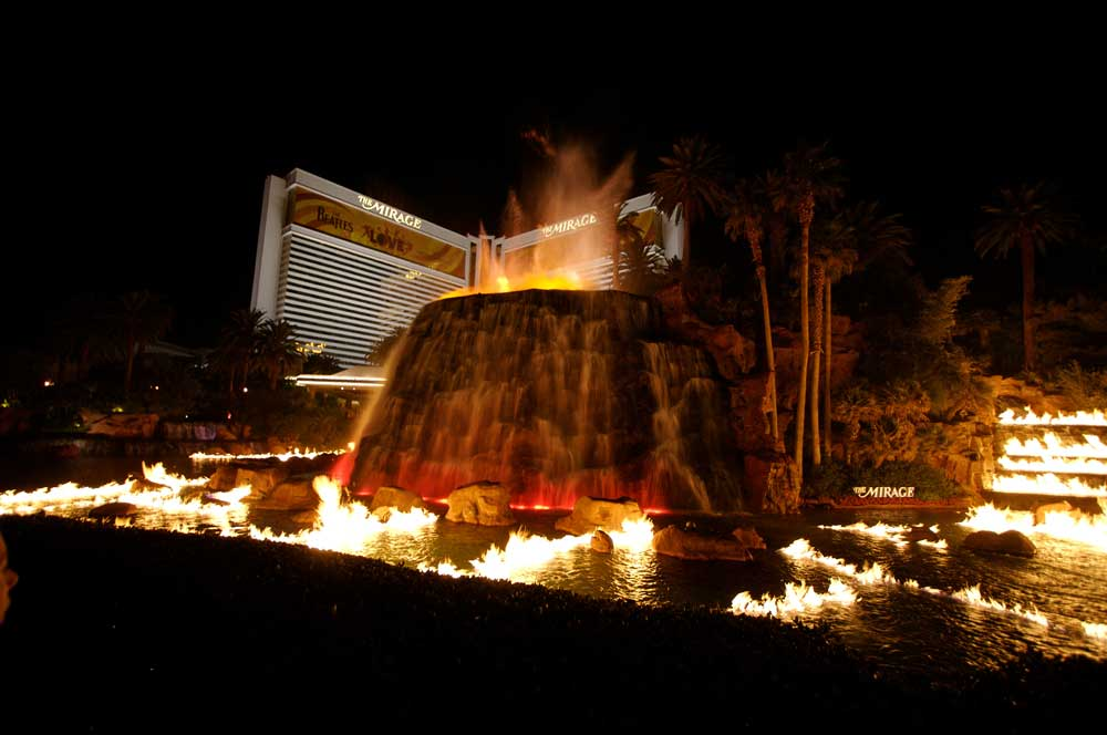 travelibro United States of America Austin Buffalo Chicago Las Vegas Los Angeles New Orleans New York San Francisco USA Budget Volcano at Mirage Resort