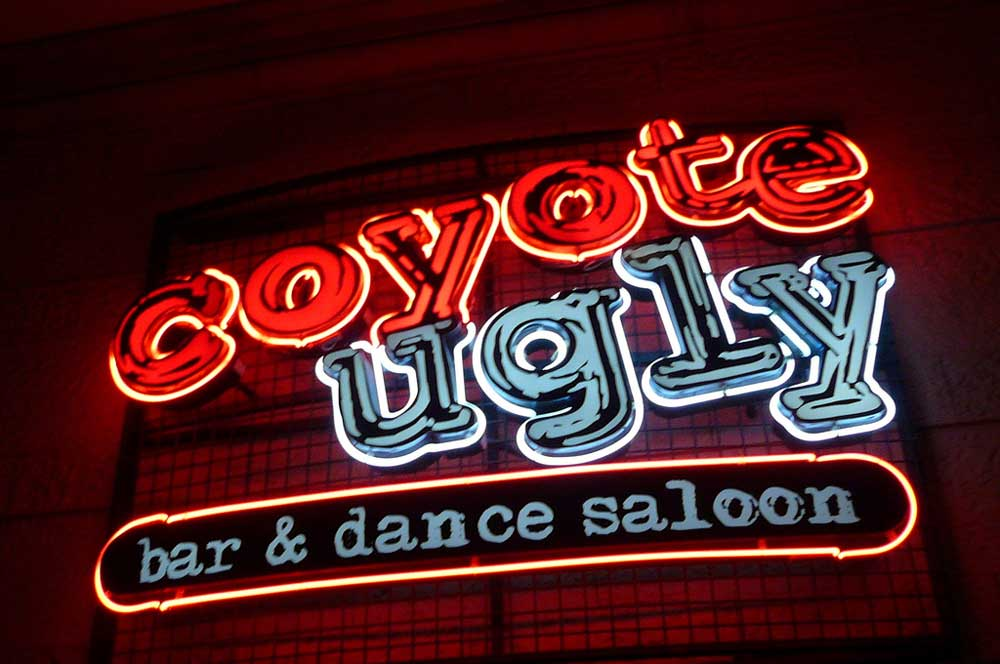 8.coyote ugly las vegas michael gray via flickr