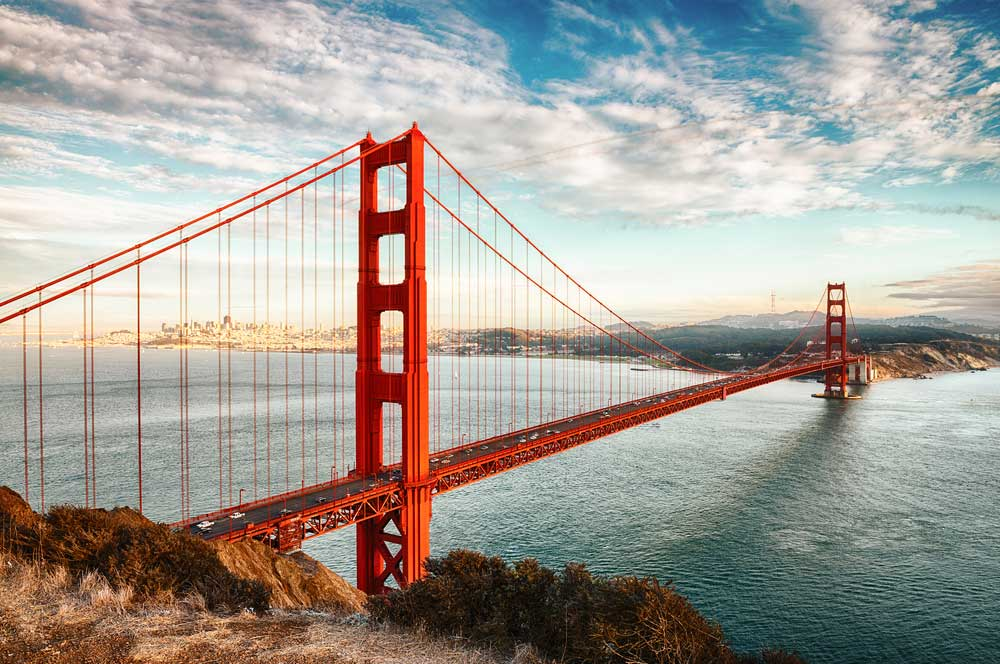 travelibro United States of America Chicago Las Vegas Los Angeles Miami Napa New York San Francisco Wailea Washington, D.C. USA Luxury Golden Gate Bridge
