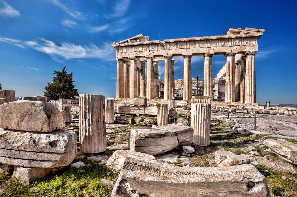 1. parthenon temple acropolis