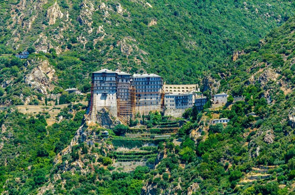 Monasteries on mount athos
