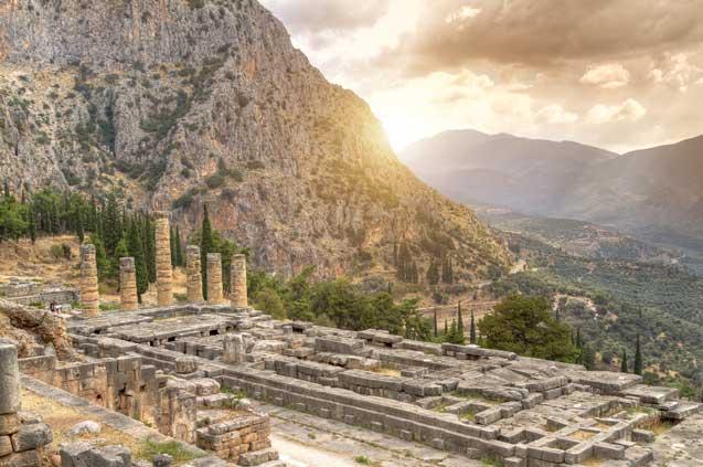 1. the temple of apollo