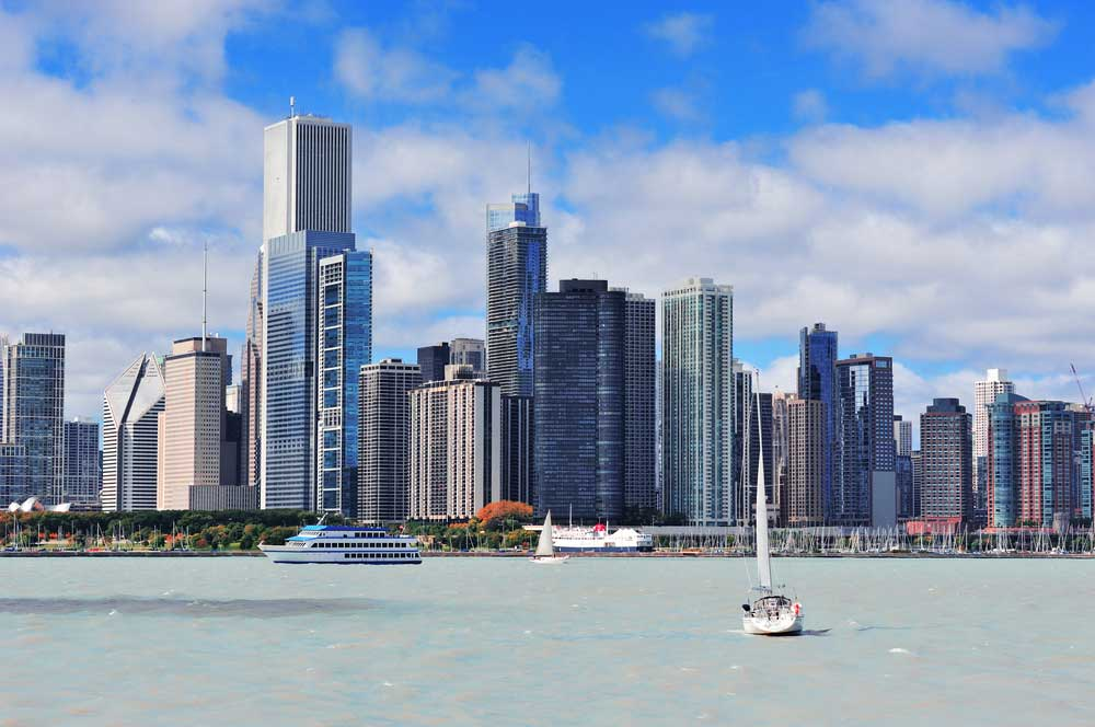 travelibro United States of America Austin Buffalo Chicago Las Vegas Los Angeles New Orleans New York San Francisco USA Budget Cruise on Lake Michigan