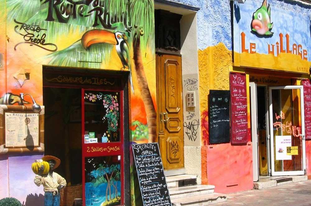 travelibro France Avignon Bordeaux Lille Lyon Marseille Nice Paris Strasbourg Toulouse France Backpacking Street Art - Le Cours Julien