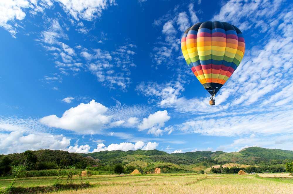 travelibro United States of America Lake George Adirondacks Adventure Hot Air Balloon Ride