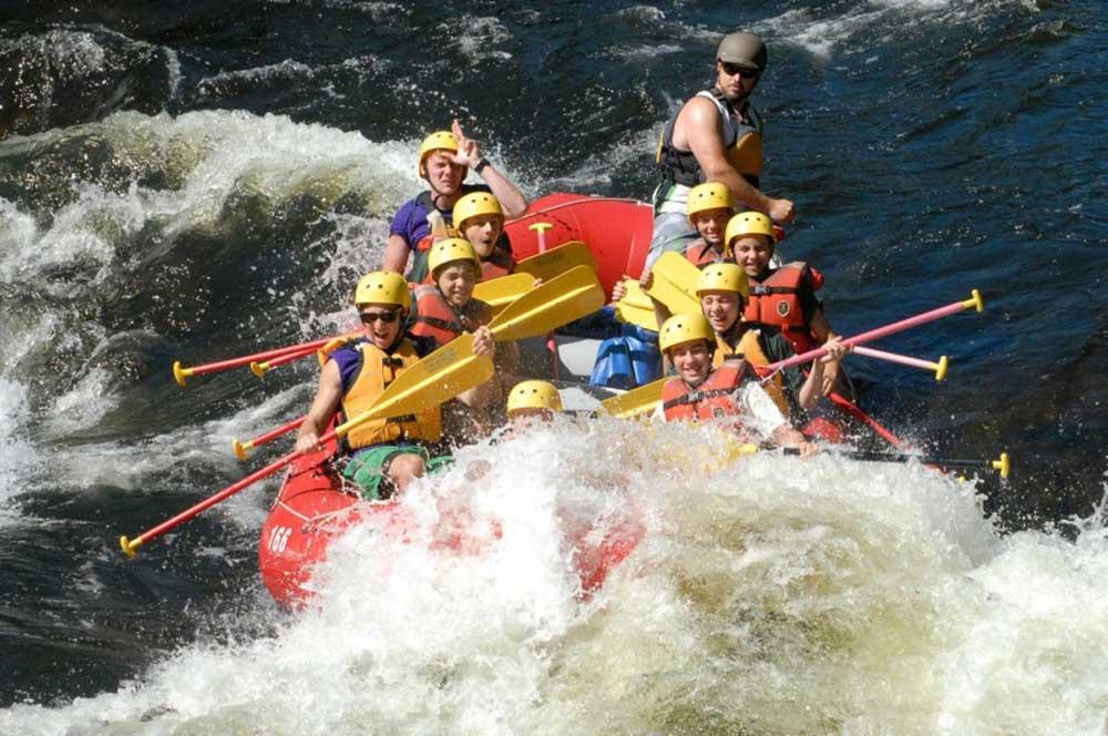 travelibro United States of America Lake George Adirondacks Adventure White Water Rafting