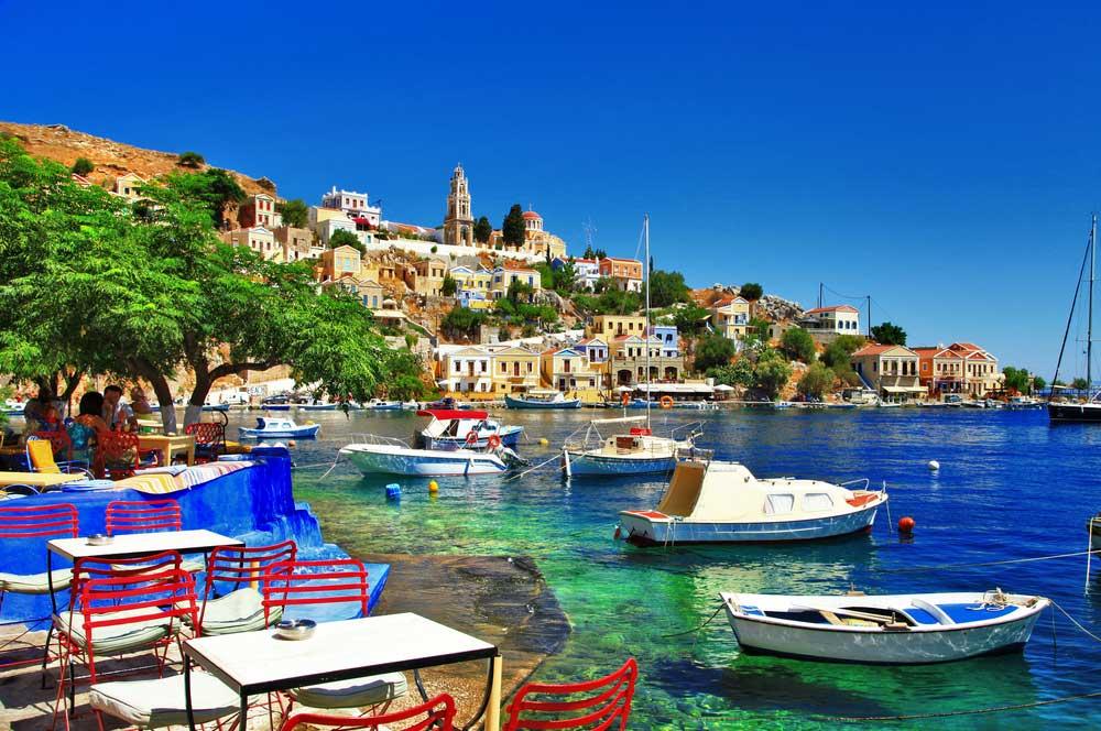 travelibro Greece Athens Crete Mykonos Rhodes Santorini Greece Honeymoon Symi Village