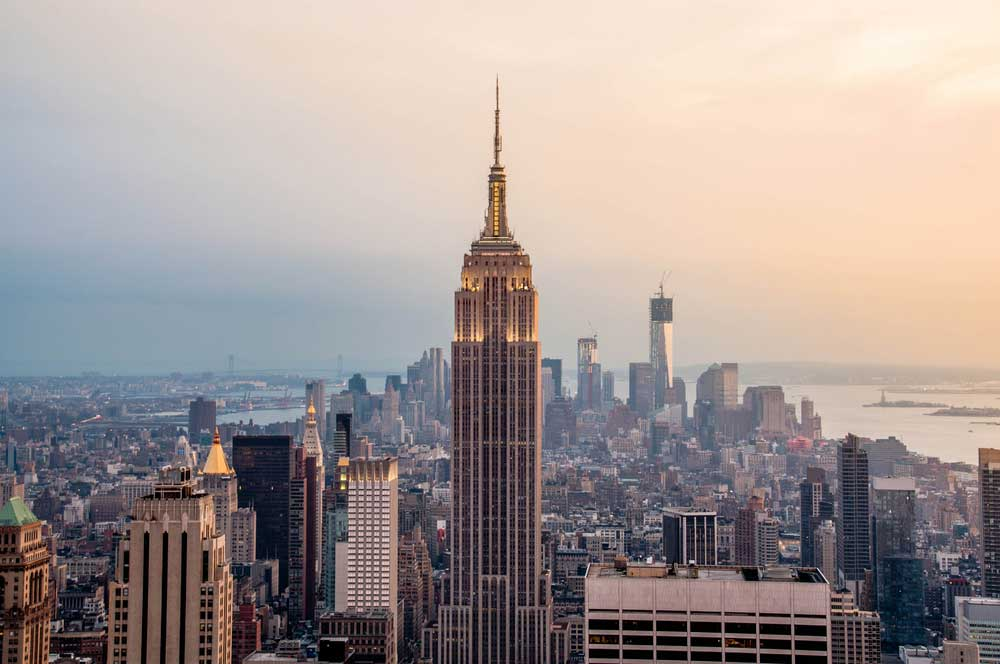 travelibro United States of America New York NYC - City of Love Empire State Building
