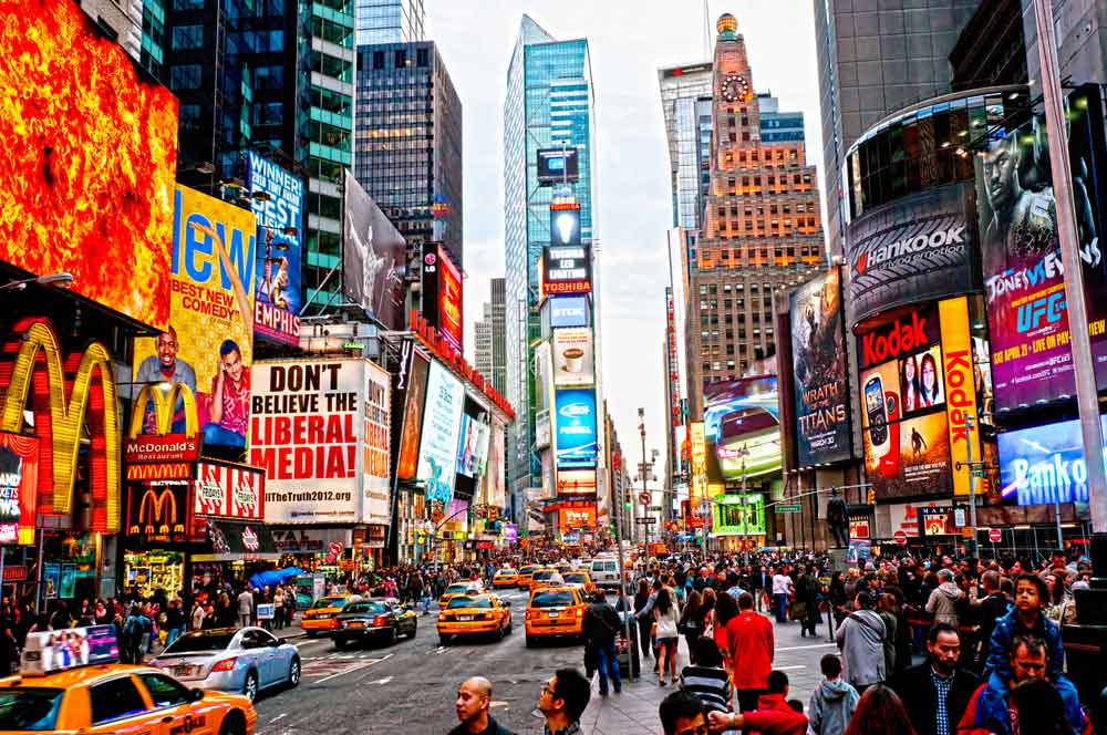 travelibro United States of America New York NYC - City of Love  Times Square