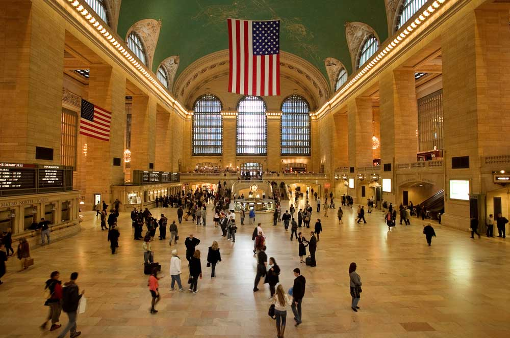 travelibro United States of America New York NYC - City of Love Grand Central Terminal