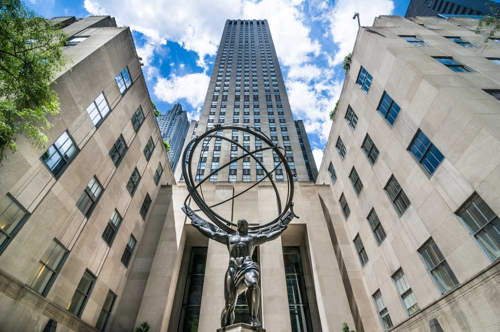travelibro United States of America New York NYC - City of Love Rockefeller Center