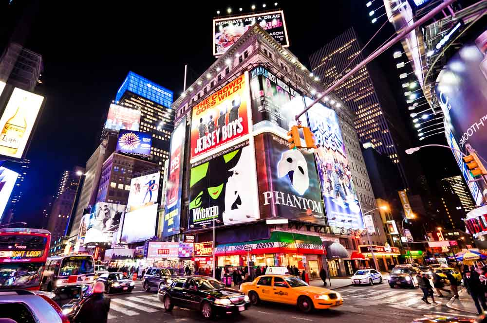 travelibro United States of America New York Upscale NYC Broadway Theater