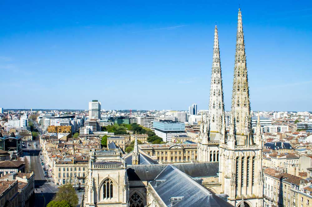 travelibro France Avignon Bordeaux Lille Lyon Marseille Nice Paris Strasbourg Toulouse France Backpacking Bordeaux Cathedral (Saint Andre's Cathedral)