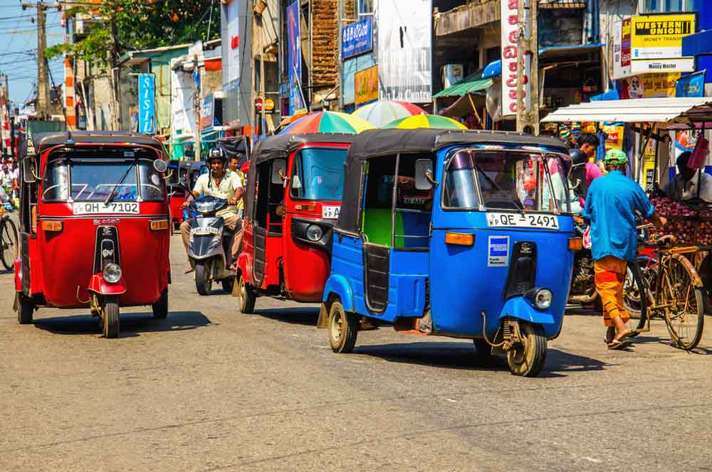 travelibro Sri Lanka Bentota Colombo Kandy Nuwara Eliya Sri Lanka Budget Trishaw Ride