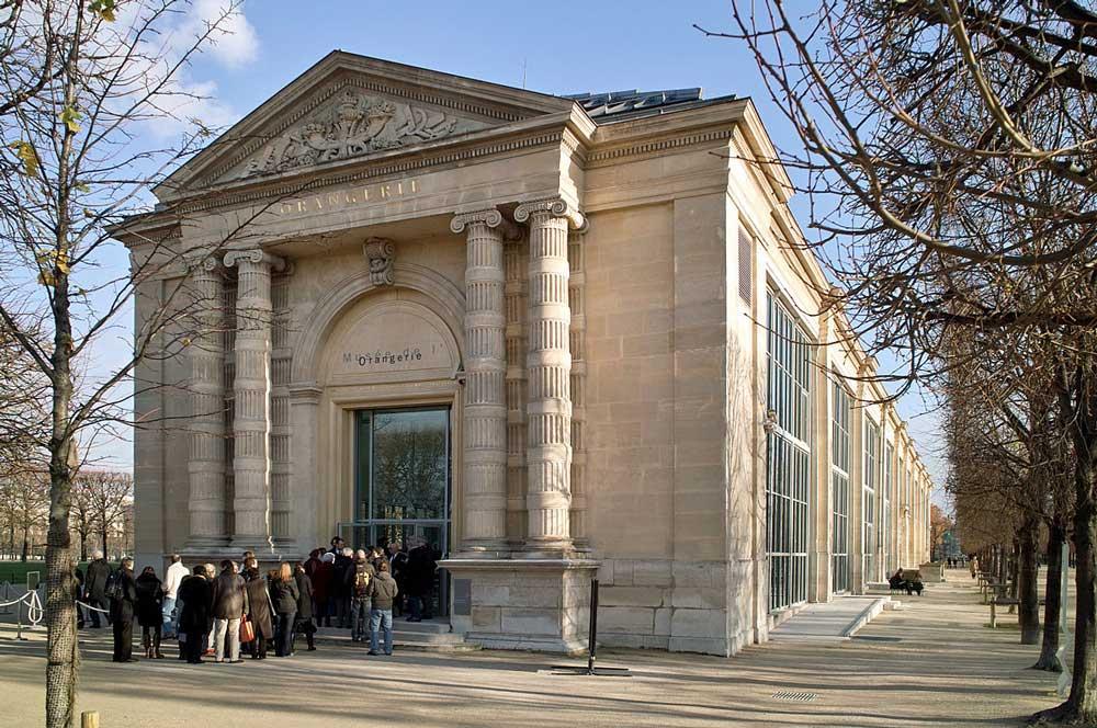 travelibro France Avignon Bordeaux Lille Lyon Marseille Nice Paris Strasbourg Toulouse France Backpacking Musée de l'Orangerie