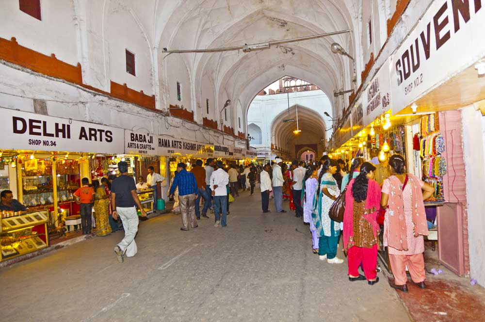 travelibro India Agra Delhi Delhi & Agra Shopping