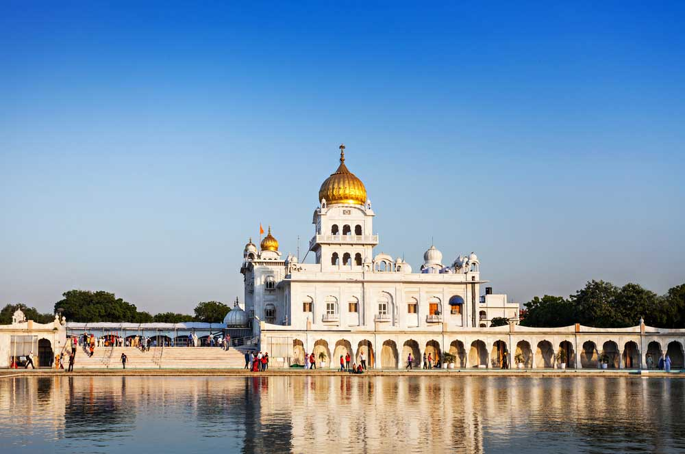 travelibro India Agra Delhi Delhi & Agra Gurudwara Bangla Sahib
