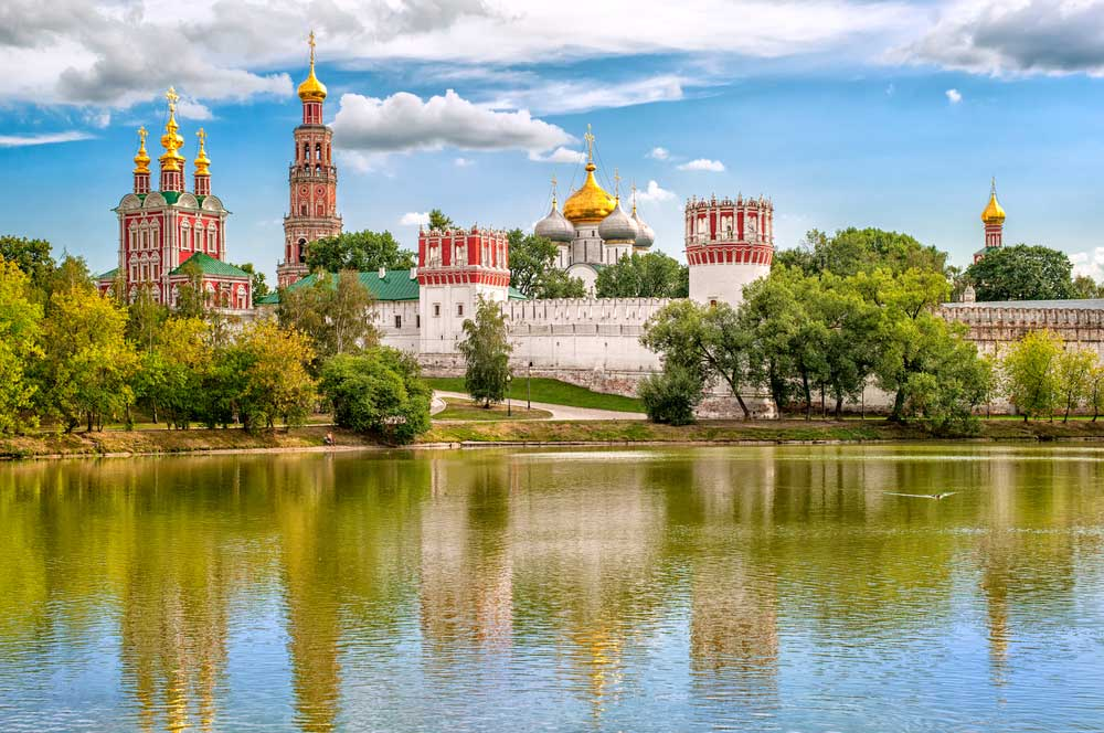 travelibro Russia Moscow St. Petersburg Russia Luxury Novodevichiy Convent