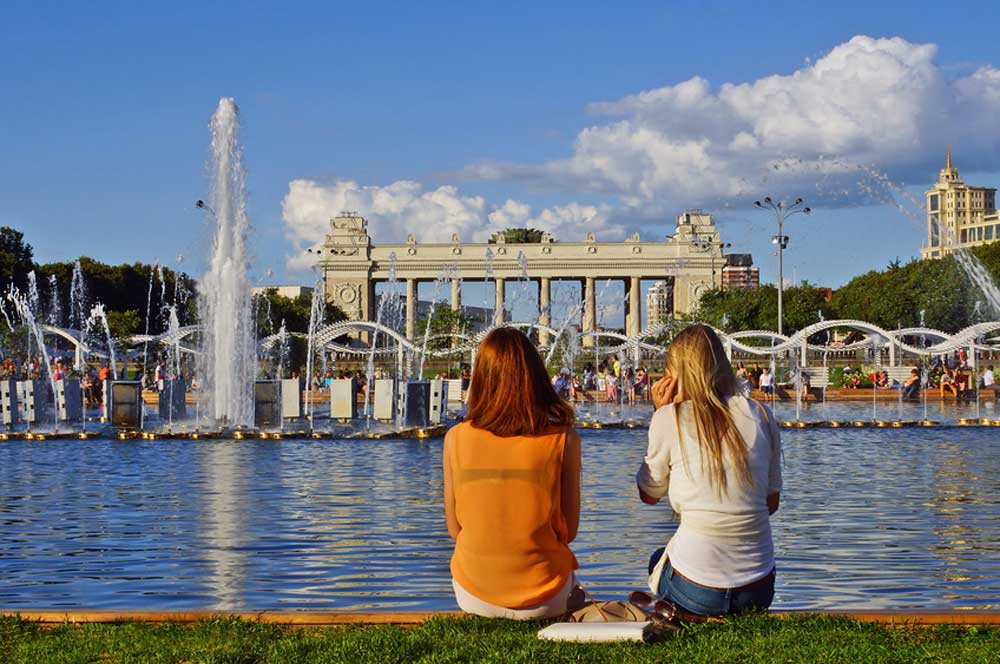 travelibro Russia Moscow St. Petersburg Russia Luxury Gorky Park