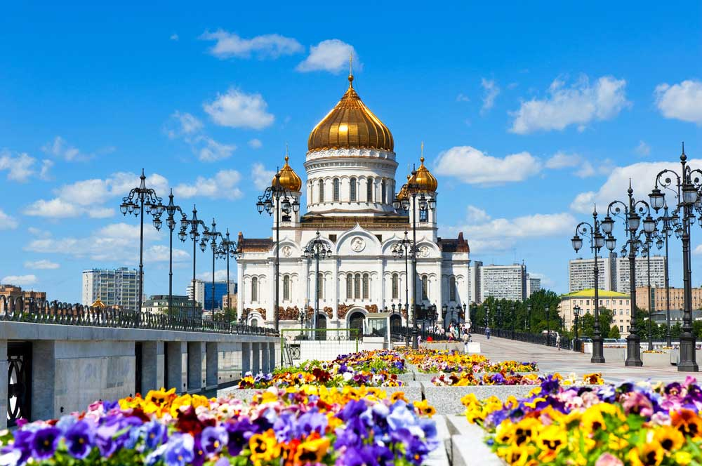 travelibro Russia Moscow St. Petersburg Russia Luxury Cathedral of Christ the Savior