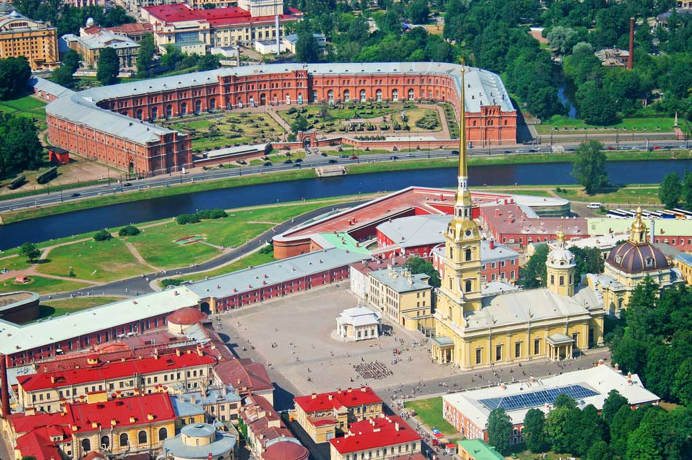 travelibro Russia Moscow St. Petersburg Russia Luxury Peter and Paul Fortress