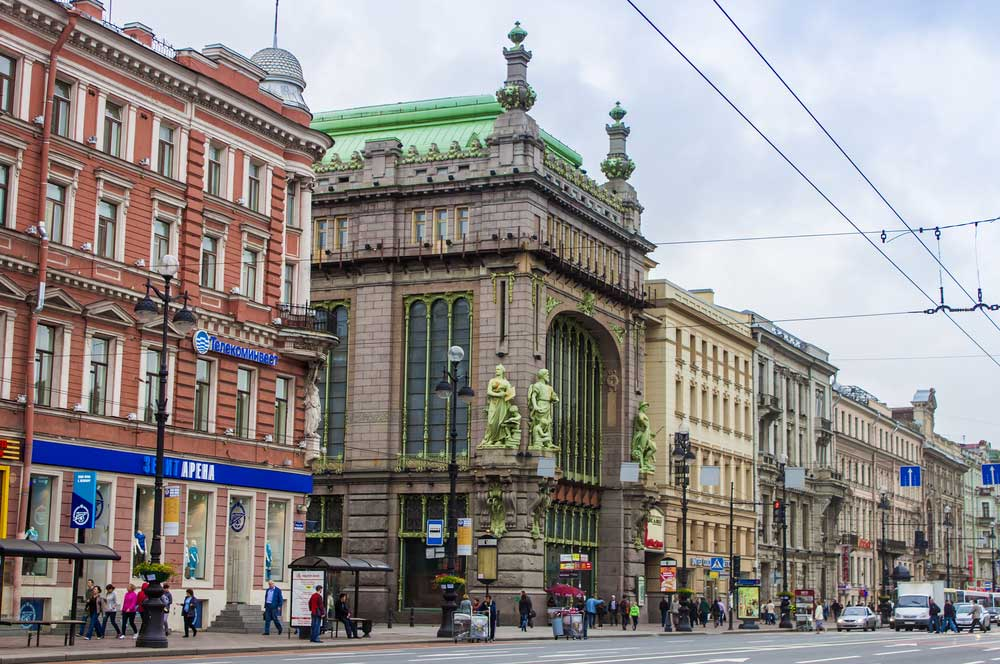 travelibro Russia Moscow St. Petersburg Russia Luxury Nevsky Prospekt