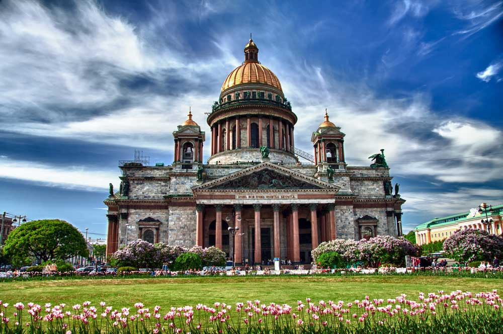 travelibro Russia Moscow St. Petersburg Russia Luxury St Isaac's Cathedral