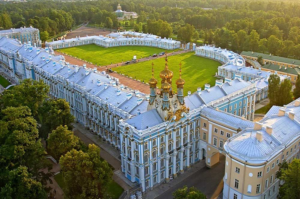 travelibro Russia Moscow St. Petersburg Russia Luxury Catherine Palace in Pushkin
