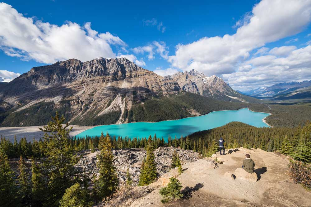 travelibro Canada Jasper Lake Louise Montreal Tofino Toronto Vancouver Whistler Canada Adventure  Lake Peyto