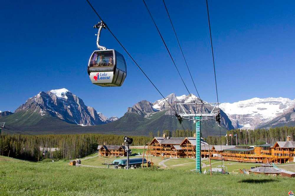 travelibro Canada Jasper Lake Louise Montreal Tofino Toronto Vancouver Whistler Canada Adventure Lake Louise Gondola
