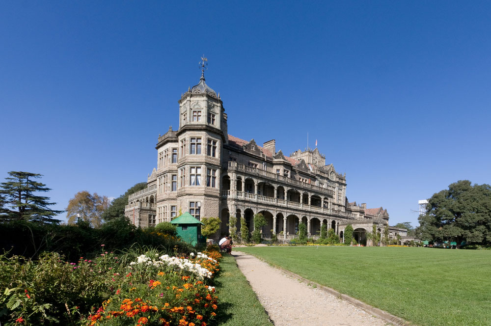 Viceregal lodge simla via sht stk