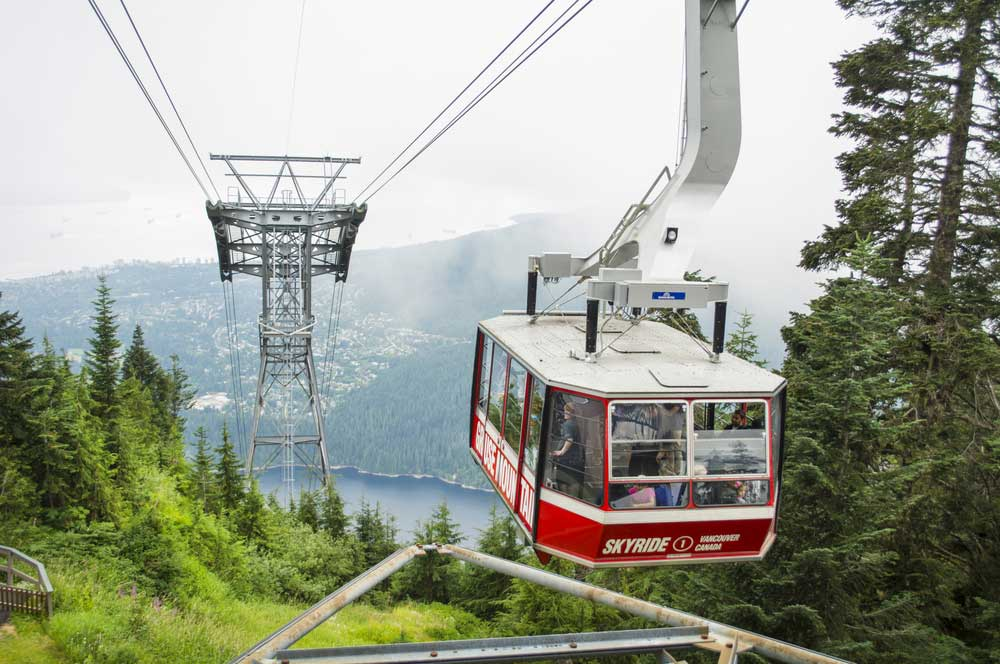 Grouse mountain justek16  shutterstock