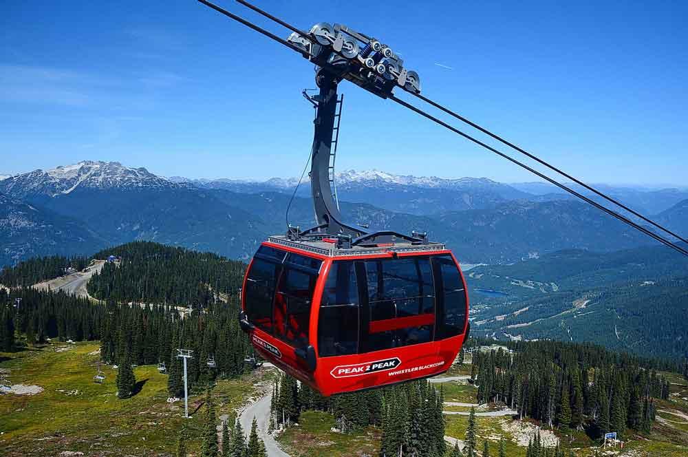 travelibro Canada Banff Montreal Toronto Vancouver Whistler Canada Budget Peak 2 Peak Alpine Gondola