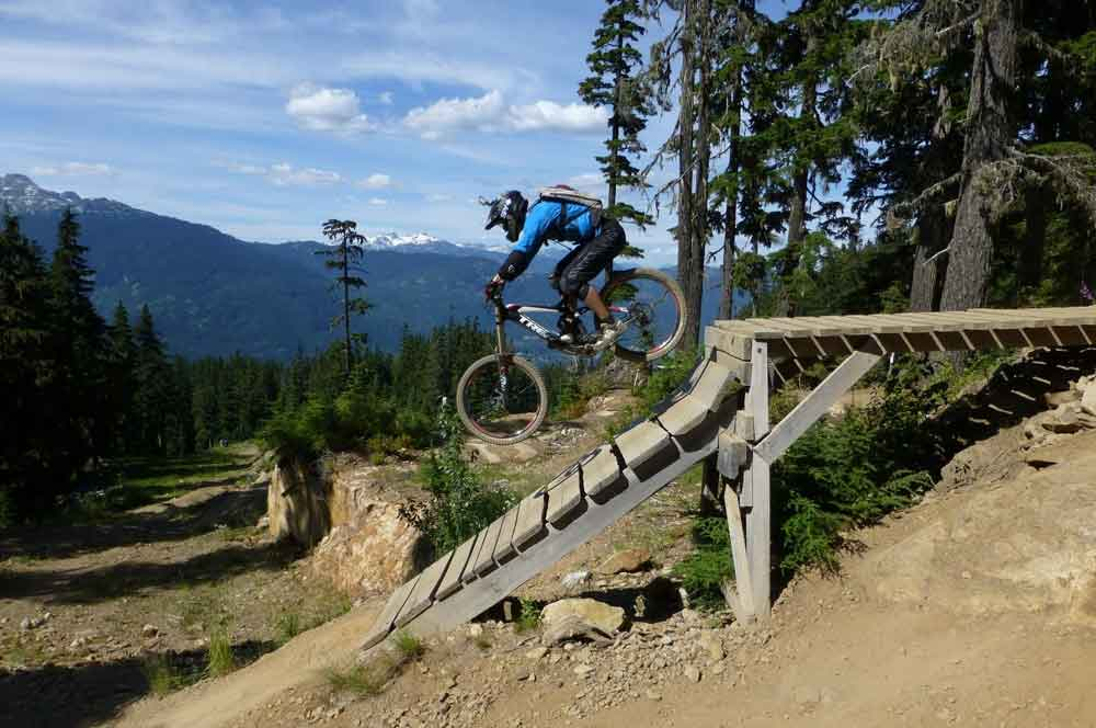 travelibro Canada Jasper Lake Louise Montreal Tofino Toronto Vancouver Whistler Canada Adventure Whistler Mountain Bike Park
