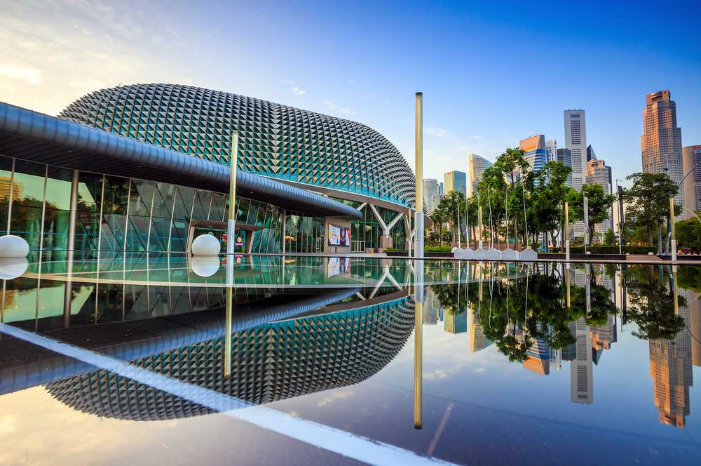 Esplanade theater f11photo  shutterstock