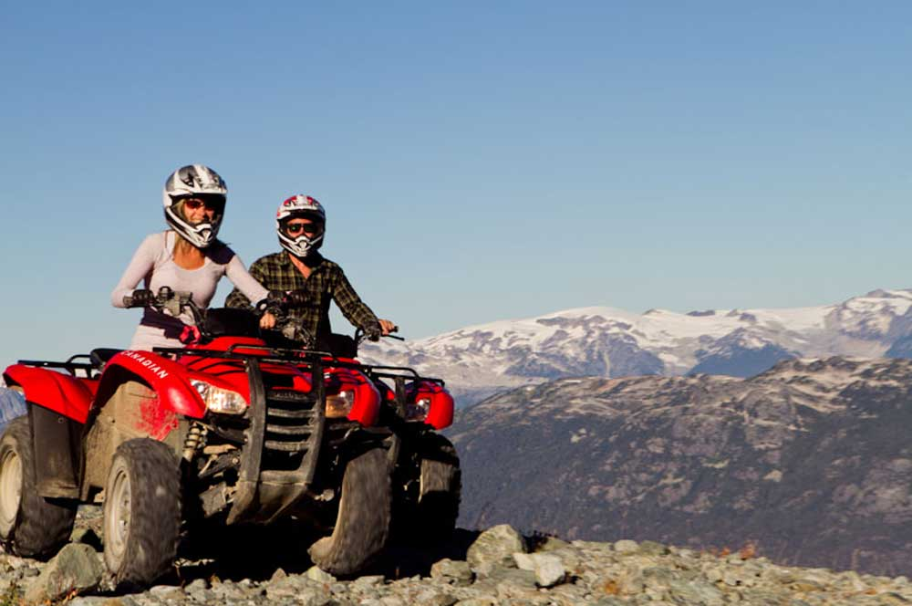 travelibro Canada Banff Montreal Toronto Vancouver Whistler Canada Budget ATV Quad Bike Tour