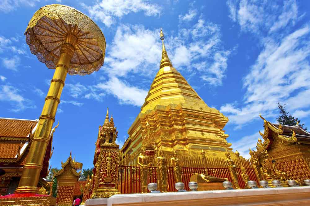 travelibro Thailand Bangkok Chiang Mai Hua Hin Ko Samui Pattaya Phuket Thailand Backpacking Wat Phra That Doi Suthep