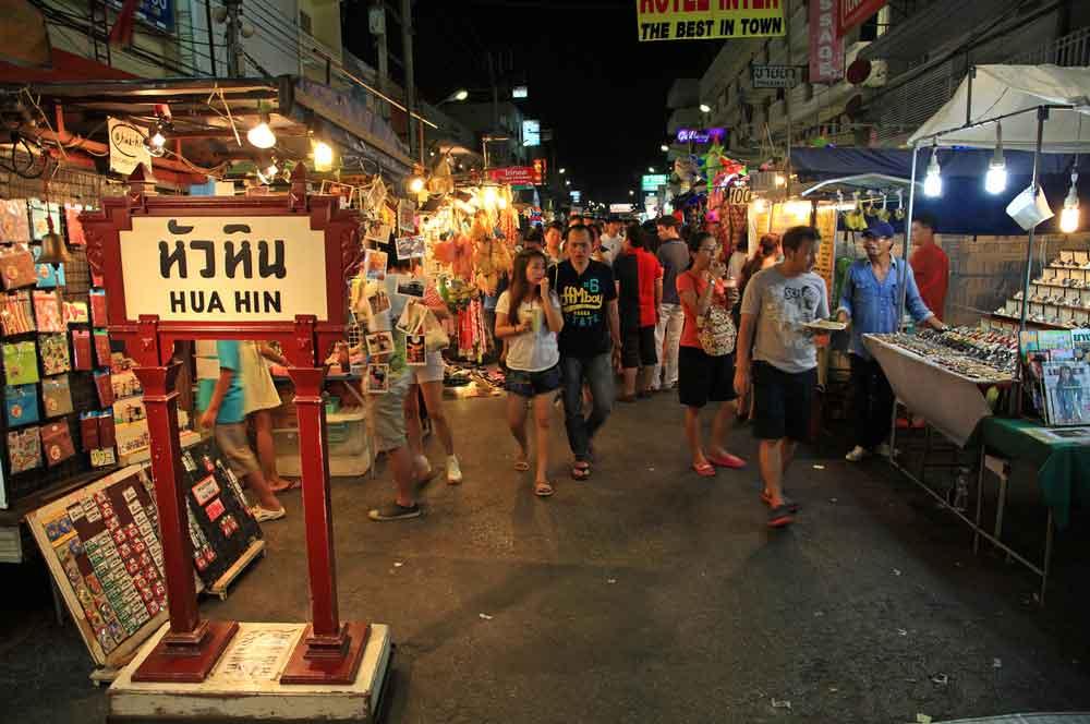 travelibro Thailand Bangkok Chiang Mai Hua Hin Ko Samui Pattaya Phuket Thailand Backpacking Hua Hin Night Market