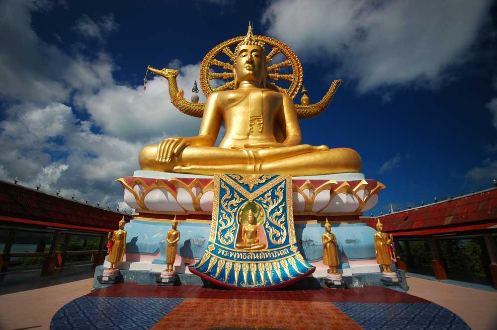 travelibro Thailand Ko Samui Luxurious Ko Samui Wat Phra Yai