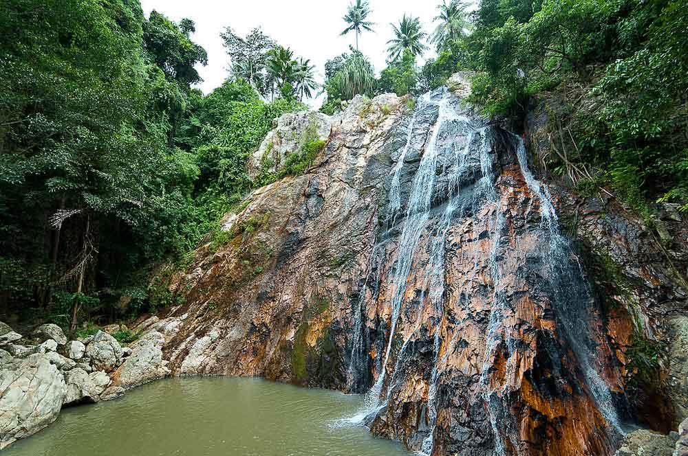 travelibro Thailand Bangkok Chiang Mai Hua Hin Ko Samui Pattaya Phuket Thailand Backpacking Namuang Waterfall