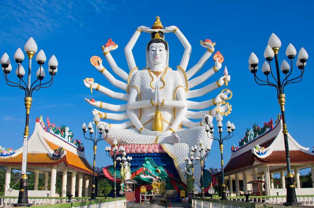 travelibro Thailand Ko Samui Luxurious Ko Samui Wat Plai Laem