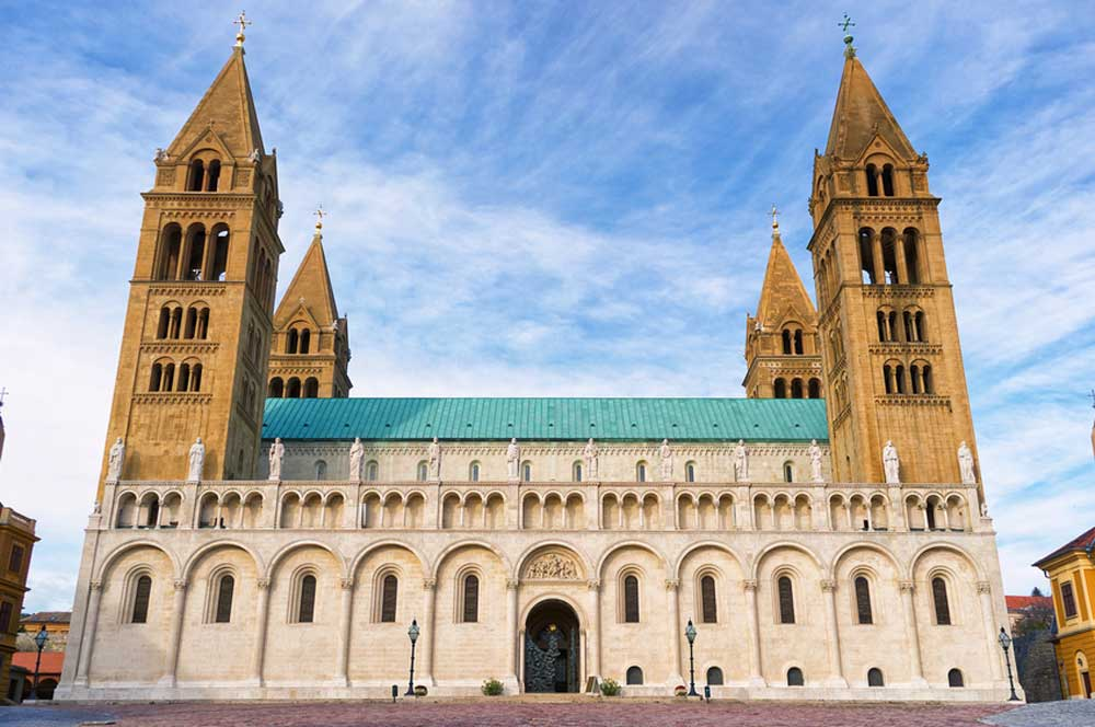 travelibro Hungary Budapest Pecs Siofok Hungary with Kids Pecs Cathedral
